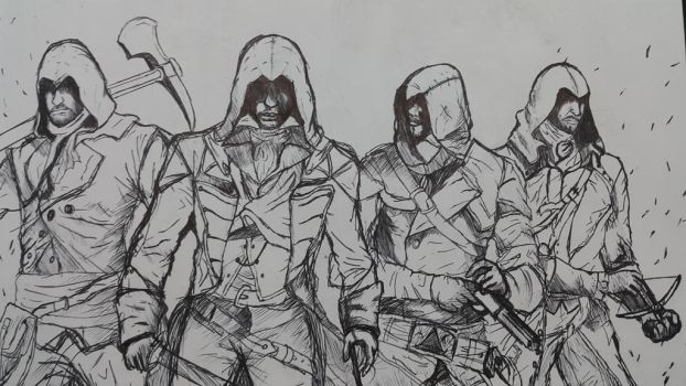 French Assassins by FAIZonFF