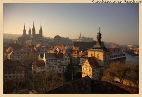 Sunshine over Bamberg by HDRX