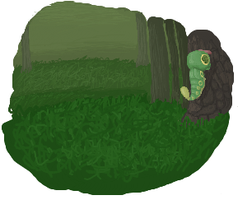 Caterpie -iscribble- by Ryanners