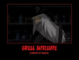Grell as...Undertaker by DragonStalker0713