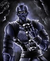 Noob Saibot by Fire-Dragana