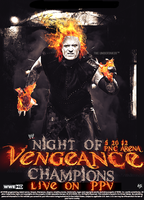 WWE Vengeance NOC Poster by SoulRiderGFX