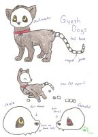 New Species: Gyesh Dog by fangs211
