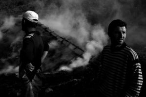 The Charcoal People_eleven by lishko
