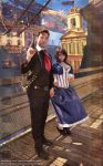 In Columbia : Booker and Elizabeth Cosplay by Charjuku