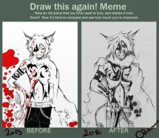 Draw this again! Cheshire!Human by C-hrona