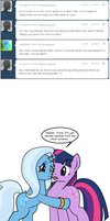 Ask Twixie Tumblr #244 by Dekomaru