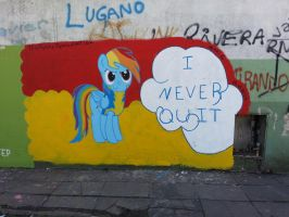 I Never Quit by TheResky