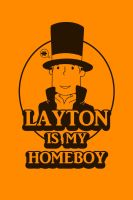Layton T-shirt Design by PurpleSmock