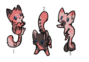 Kitty Design Adoptables -Closed- by SpottedAdopts