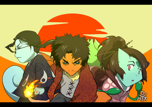 POKEMON CHAMPLOO by BrokenHAX