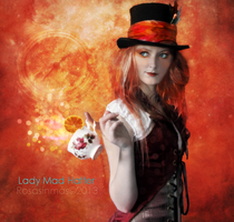 Lady Mad Hatter by ROSASINMAS