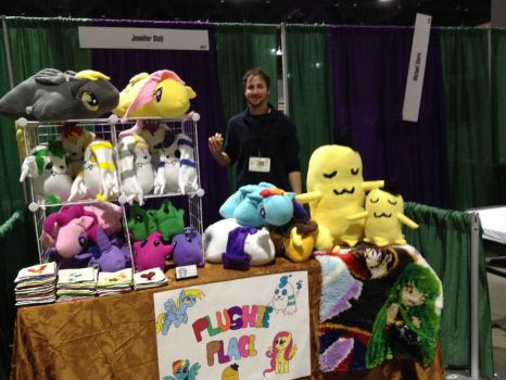 Table at Ctcon 2014 by titanstargirl