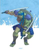 Leonardo tmnt movie by valderrama