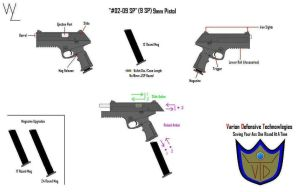 '02-09 SP' 9mm Pistol Info by KillSwitchWes
