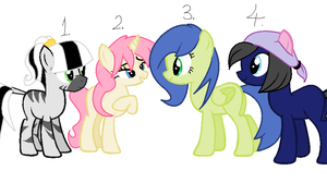 Pony Adopts by Jc-the-penguin