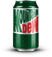 Can of Mountain Dew (1980s) by MrAngryDog