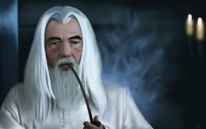 Gandalf The White by spirit815