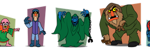Scooby Doo Muppet Monsters by Gr8Gonzo