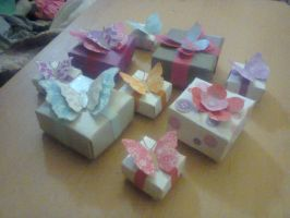 all gift boxes together by Jornblk