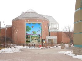 Indy Zoo's Botanical Garden Mural by Culinary-Alchemist