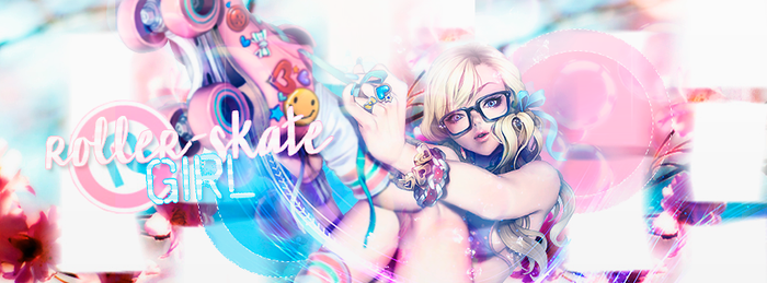 Roller-Skate Girl! by inuzombie