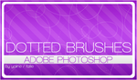 dotted brushes by fallie