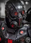 The Panzersoeldner - light up dieselpunk armor by TwoHornsUnited