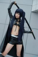 black Rock Shooter by CosplayQueenly