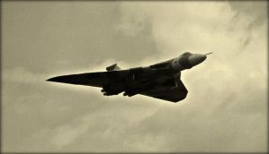 And Out Of The Dark Skies ,  Came The Vulcan ! by Estruda