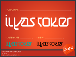 Logotype_IlyasToker by monographic