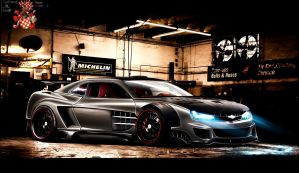 Chevrolet Camaro ss WTB '09 by CptDesign