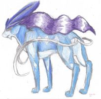 Suicune by Elzux