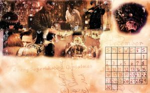 SuperWhoLock Calendar: December by 14LolaLoverX3
