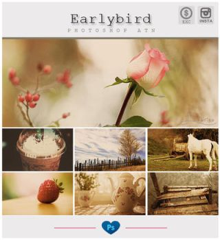 Instagram Earlybird Photoshop Action by friabrisa
