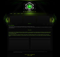 Nemesis Web Design by Kinetic9074