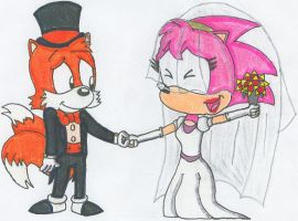 Tails and Amy's Big Day by nintendomaximus