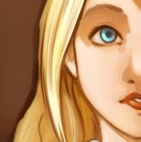 Luna lovegood Detail by Cloud-07