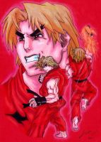 Ken Street Fighter by Joker-laugh
