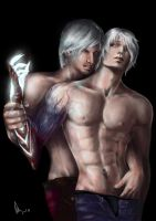 dante and nero 2 by Qlyoma