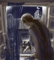to unwritten tale about a dwarf (ill. 15) by Irsanna