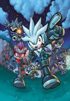 Sonic Universe 41 Cover by sdowner
