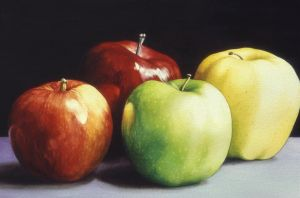 4 Apples by RSF24