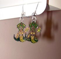 Cassiopeia Crystal Earrings 2 by AerithHojo