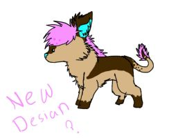One of the new Chica desians by InvaderMayMay
