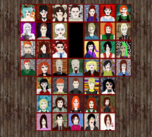 Resident Evil MK Style Beat-em-up Select Screen! by Shakahnna