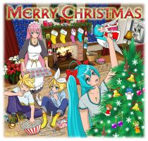 Merry Vocaloid Christmas by Randwill