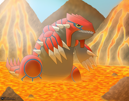Groudon by TvSonic