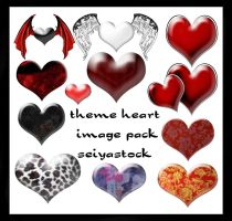 Heart Image Pack by seiyastock