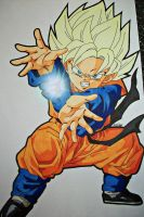 Request - SSJ Son Goten - WIP 2 by SakakiTheMastermind